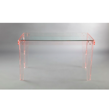 Transparent Coffee Table Lucite Acrylic Side Table