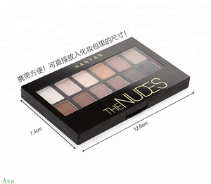Recommend private label cosmetic makeup eye shadow fashion shining arabic eye shadow