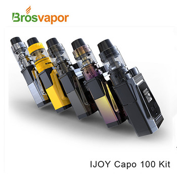 Hot Selling Products 0.3ohm 3.2ml 3750mAh IJOY CAPO 100 Kit with 100W Output Wattage