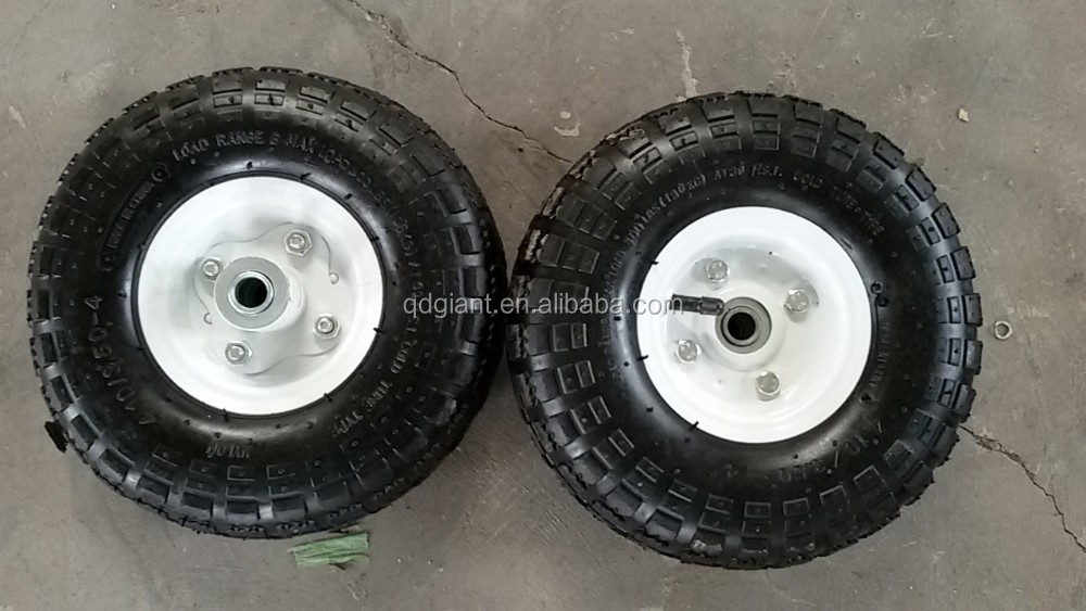 4.10/3.50-4 Solid Wheel for Wheelbarrow