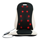 Electric low back and neck shiatsu massager cushion vibrating butt spine kneading whole full body car seat massage chair