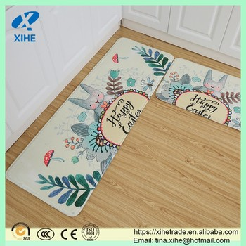 Memory Foam Pvc Kitchen Floor Mat