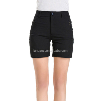 36228e63d4 Outdoor Sports Summer Women's Hiking Shorts Quick Dry Breathable Micro  Elastic Waist Traveling Pockets Cargo Short