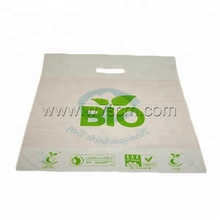 100% OXO Biodegradabile Compostabile Eco-Friendly In Plastica D2W EPI Manioca Amido <span class=keywords><strong>di</strong></span> <span class=keywords><strong>Mais</strong></span> Die Cut Borse All'ingrosso