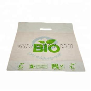 100% Oxo Biodegradable Compostable Eco Friendly Plastic D2w Epi Cassava  Corn Starch Die Cut Bags Wholesale - Buy Eco Friendly Plastic D2w Epi  Cassava