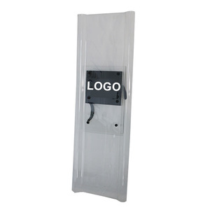 iso standard Impact Resistant Strong PC Combination Anti Riot Shield Equipment