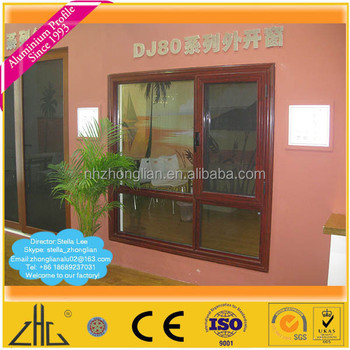 Wow!! catalog aluminium extrusion profile to make door and window/wood color powder  sc 1 st  Alibaba & Wow!! Catalog Aluminium Extrusion Profile To Make Door And Window ... pezcame.com