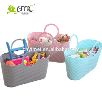 Emc Plastic Handy Baskates Small Baskets With Handles Pe Soft