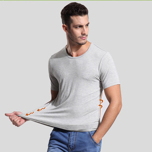 O-Neck China Factory OEM Bamboo Tshirts Blank T Shirts For Men