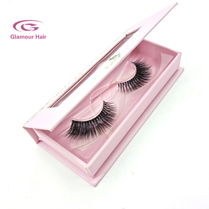 Custom packaging imitate faux 3D mink eyelashes wholesales