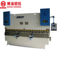 WC67Y/K 125T / 4000mm electro-hydraulic servo sheet plate press brake / metal plate bending machine price