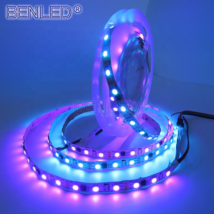 New Addressable 5050 <strong>RGB</strong> 60 ws2812b LED Strip