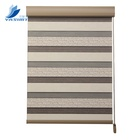 Low Cost Window Plain Manual Bead Rope Zebra Blinds Shades