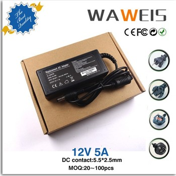China Supplier Ac/dc Power Adapter Connector 5.5x2.5 12v 5a For ...