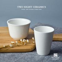 2017unique design wholesale 130ml porcelain cup tea cup coffee cup no handle