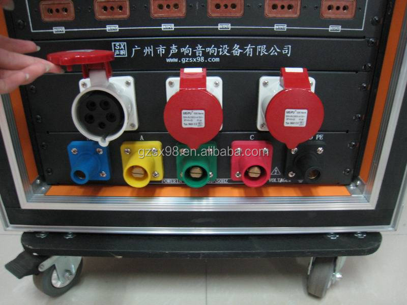 Single pin conductor 400A Camlock electric power connectors
