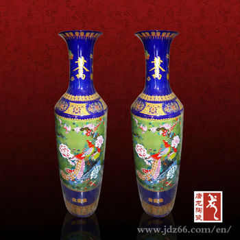 Jingdezhen ceramic cheap large floor vases buy cheap Large floor vases cheap