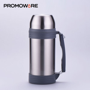 Big Capacity 800ml 1800ml Large Thermos Flask Vacuum Insulated Stainless Steel Travel Tea Thermos Flask with Handle CC0014-1800