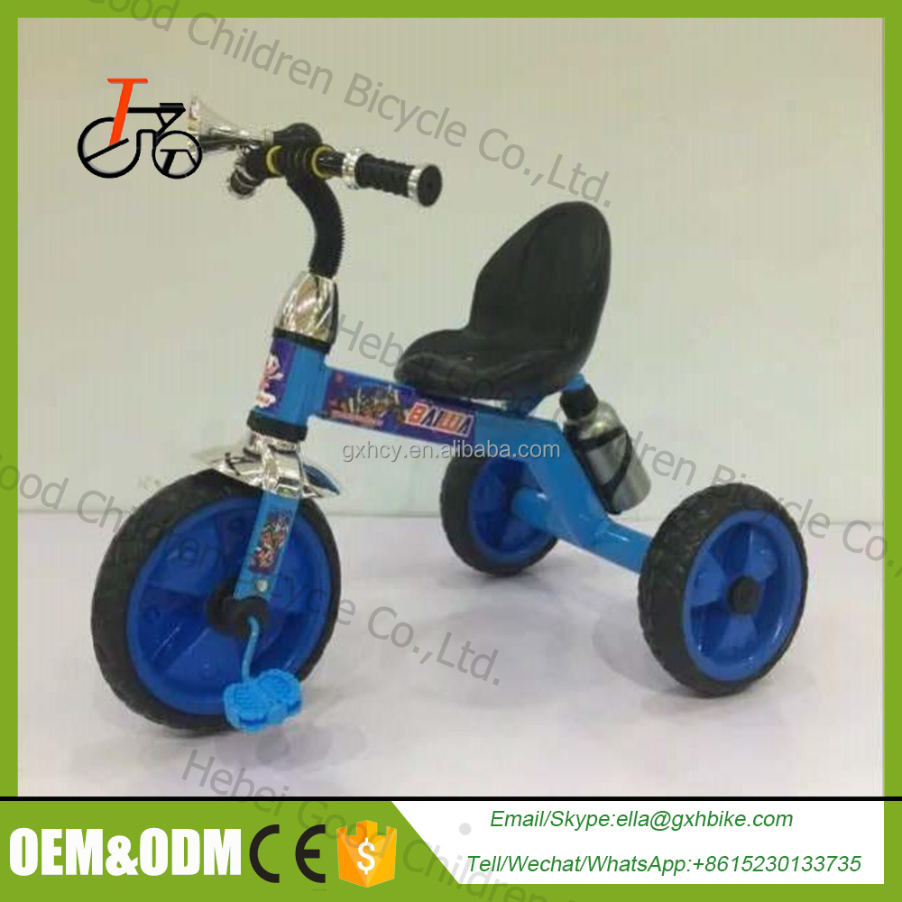 children tricycle with trailer/ cheap baby tricycle price /kids tricyle with ce certificate