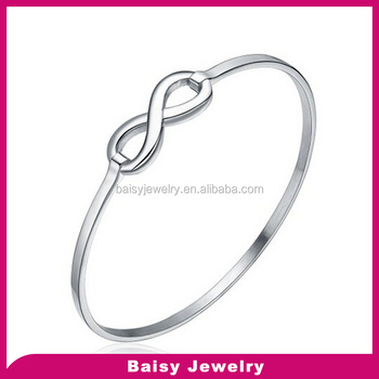 Stainless Steel Wholesale Friendship Bracelets Infinity Symbol