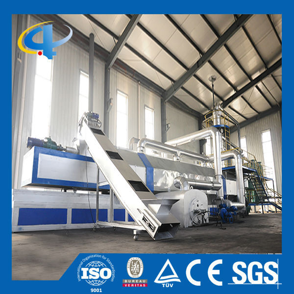 Large Capacity Used Tire/Rubber/Plastic Recycling Machine with 31 Years' Experience