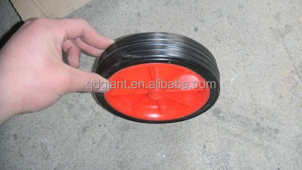 6 inch small recycled plastic wheel