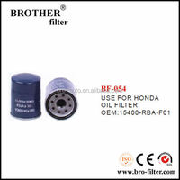 High quality OEM auto oil filter 15400RBAF01 for Honda car oil filter for toyota 90915-yzze1