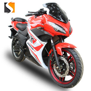 CE certification 2018 cheap adult electric sport racing motorcycles with price 72v1500w from china