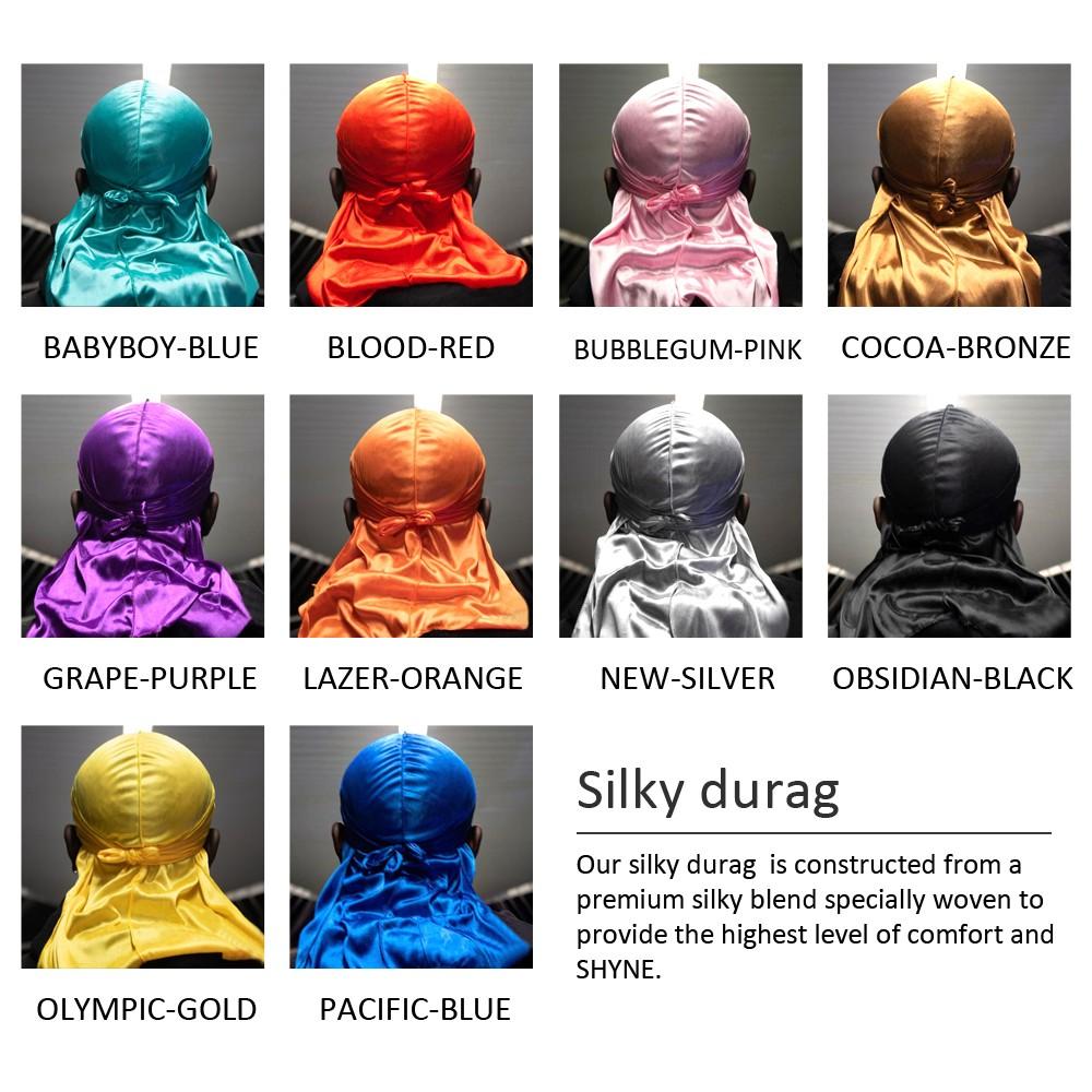 Cocoa Bronze Silky Shyne Durag