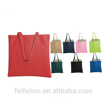 Environmental folding sundry packaging canvas shopping tote bag