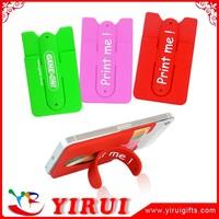 3m advertising stick mobile phone back case card holder wallet