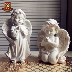 Garden ornaments resin decorative crafts arts handmade small angels