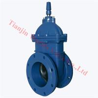 stem cap operated gate valve