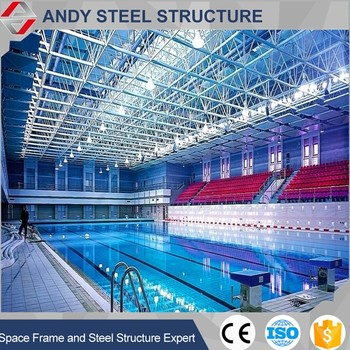 Low Cost Swimming Pool Roof Steel Pipe Truss Design - Buy Steel Pipe Truss  Roof,Design Of Roofing Steel Truss,Prefabricated Steel Roof Trusses Product  ...