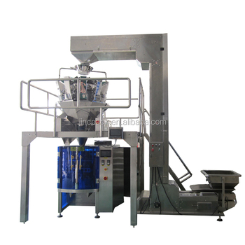 Multihead weigher chocolate snack weigh fill machine