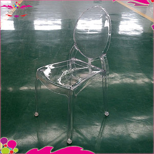 sinofur factory unassembled polycarbonate resin chair