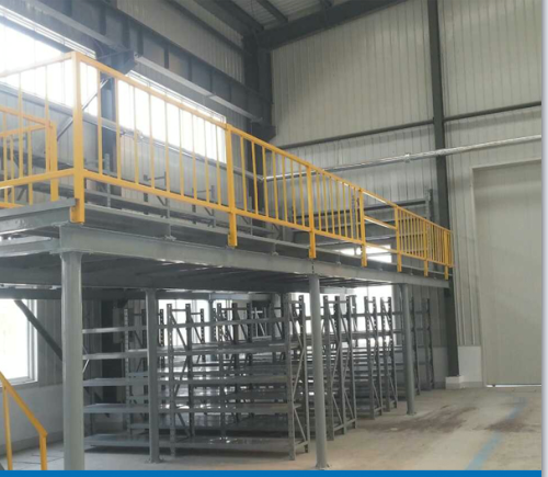 Metal Structure Mezzanine Floor Platform for Industrial Warehouse Storage Equipment