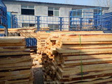 Large quantities solid pine compressed wood board