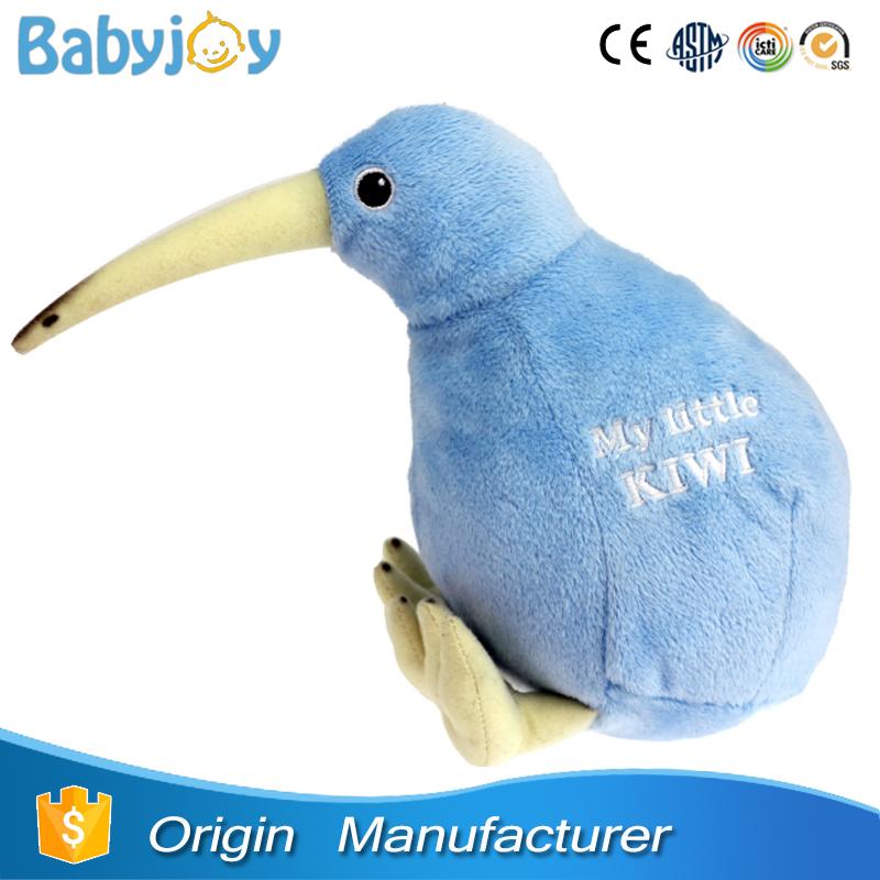 New Zealand Stuffed Animal Kiwi Bird Plush Kiwi Bird Toy For Sale