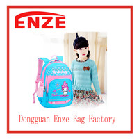 cartoon design 100% polyester school bag with high quality,school packback