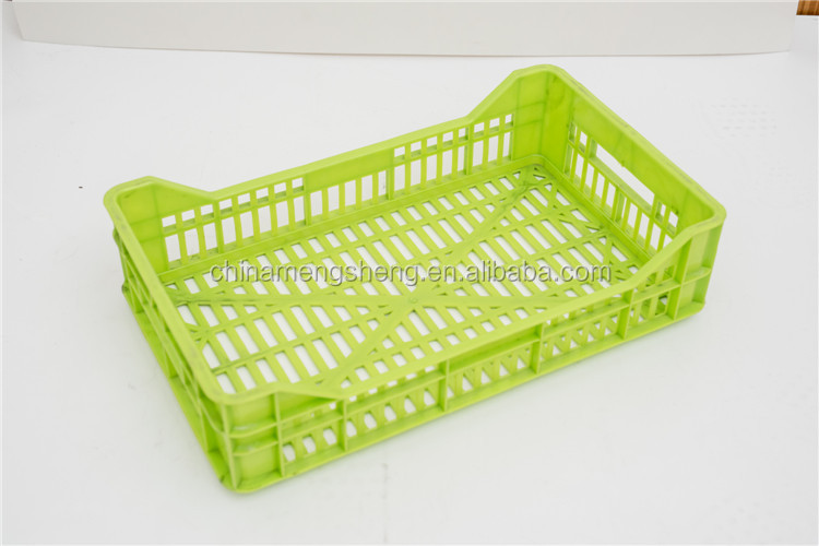 Custom professional plastic injection bread crate mould