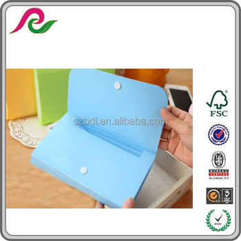 Chinese Factory Make 8 Pockets Types Of Plastic Folders Zip Lock ...