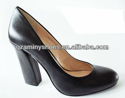 pump shoes toe heel leather black closed Special xnBf8qCw