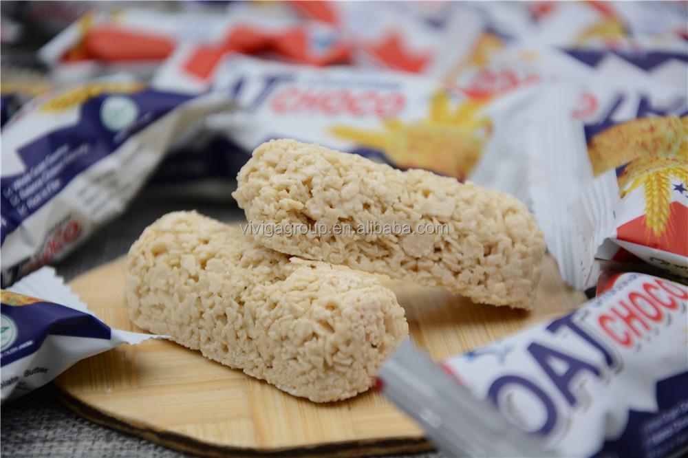 halal 400g oat choco milk chocolate crisp bar candy for hot sell