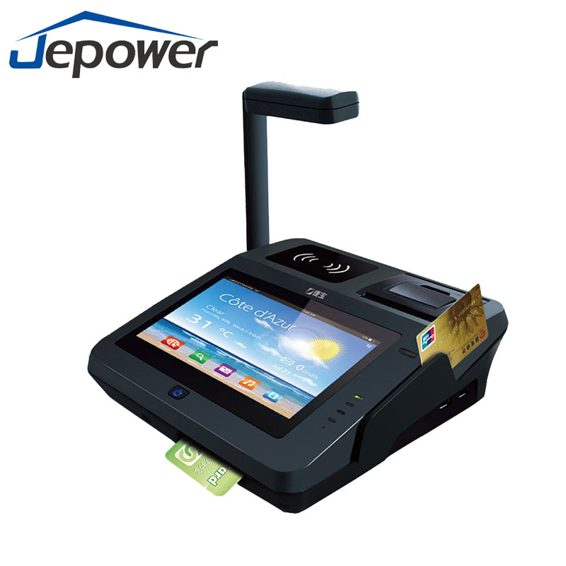 All in one android billing payment ic chip card terminal reduce cash handling pos
