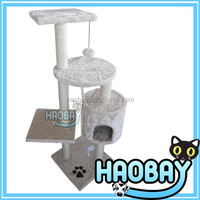 Pet products Wholesale Cat Tree for cats to hide and play pet furniture