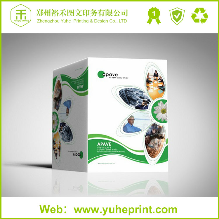 Hot customzied top grade affordable price custom glossy art paper CMYK printing us foods product catalog