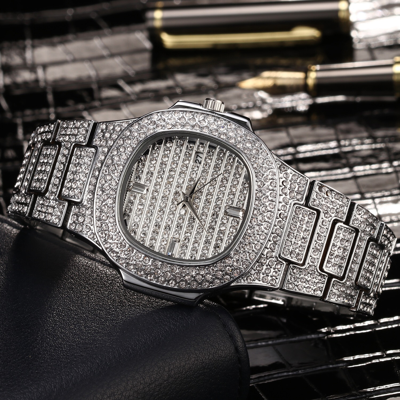 Miss Fox Brand ladies watches quart Gold Fashion Wrist Watches Diamond Stainless Steel Women Wristwatch Girls Female Clock Hours
