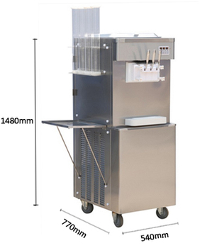 Gongly whole sale S22-1 soft ice cream machine with factory price