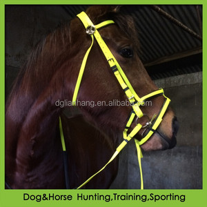 PVC fancy horse bridle with soft padded brow band double nosebands for sale